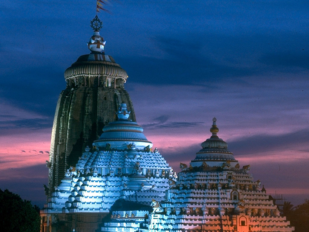 Anaya Odisha - Photo Gallery - Lord Jagannath Temple - Night View